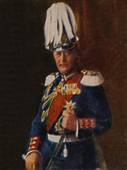 'Generaloberst von Moltke 1848-1916', 1934-Unknown-Giclee Print