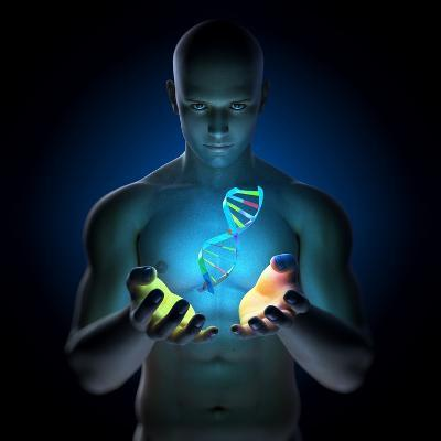 Genetic Research, Conceptual Artwork-SCIEPRO-Photographic Print