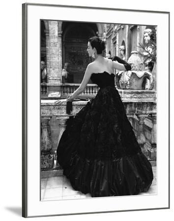 Black Evening Dress, Roma 1952