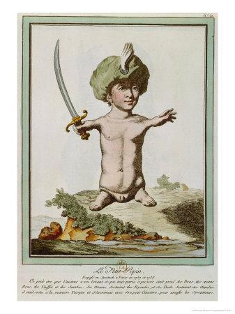 Petit Pepin, from Les Ecarts de La Nature, Paris, 1775