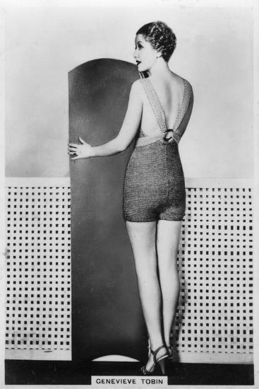 Genevieve Tobin, American Film Actress, 1938--Giclee Print