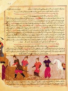 Genghis Khan and his sons by Rashid al-Din