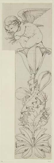 Genius of the Lily, 1809-Philipp Otto Runge-Giclee Print