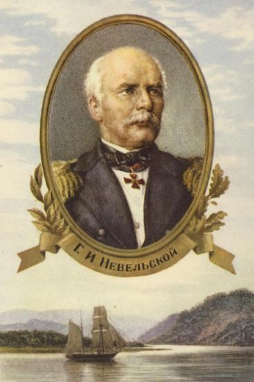 Gennady Nevelskoy, Russian Explorer--Giclee Print