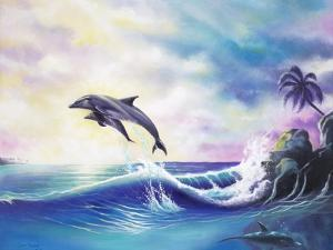 Dolphins by Geno Peoples