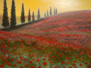 Red Field by Geno Peoples