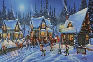 Santa Is on His Way by Geno Peoples