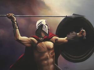 Spartan Warrior by Geno Peoples