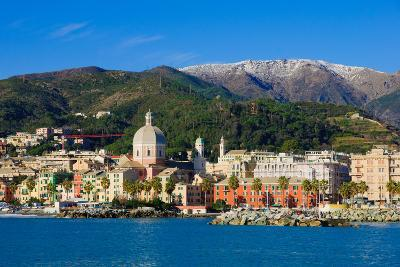 Genoa from the Sea-RnDmS-Photographic Print