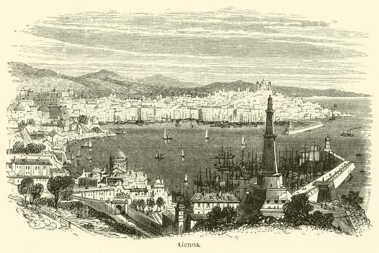 Genoa--Giclee Print