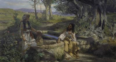 Christ and the Samaritan Woman at the Well, 1890 by Genrikh Ippolitovich Semiradski