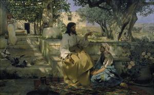 Christ and the Sinner by Genrikh Ippolitovich Semiradski