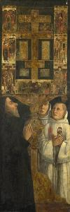 Cardinal Bessarion and Two Members of the Scuola Della Carità in Prayer, C. 1473 by Gentile Bellini