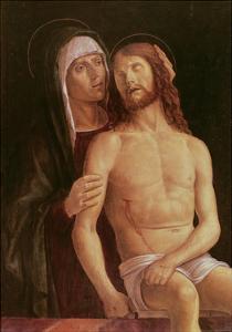 Pieta by Gentile Bellini