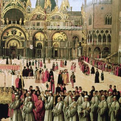 Procession in St. Mark's Square, 1496