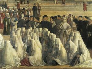 St Mark Preaching in Alexandria, Egypt, 1504-1507 by Gentile Bellini