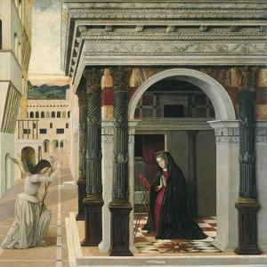 The Annunciation by Gentile Bellini