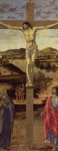 The Crucifixion, circa 1455 by Gentile Bellini