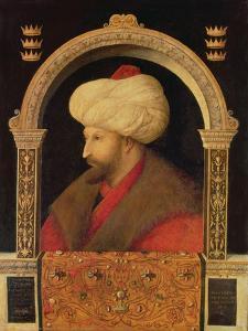 The Sultan Mehmet II (1432-81) 1480 by Gentile Bellini
