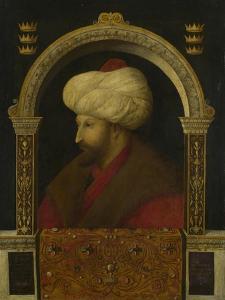 The Sultan Mehmet Ii, 1480 by Gentile Bellini