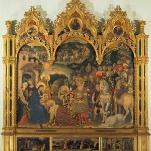 Adoration of the Magi, 1423 by Gentile da Fabriano