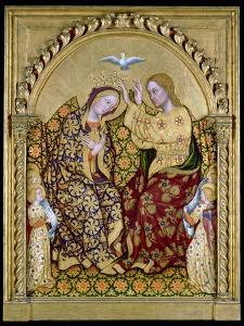 Coronation of the Virgin by Gentile da Fabriano