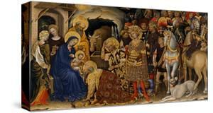 The Adoration of the Magi, 1423 by Gentile da Fabriano