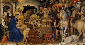 The Adoration of the Magi, 1423 by Gentile da Fabriano