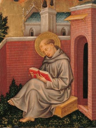 Valle Romita Polyptych, St. Thomas Aquinas