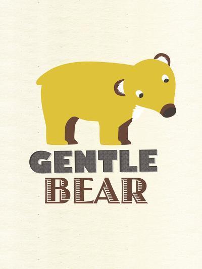 Gentle Bear-Sophie Ledesma-Giclee Print
