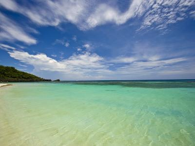 Gentle Waves Lap West Bay Beach in Roatan, Honduras-Michael Melford-Photographic Print