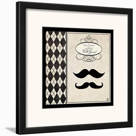Gentleman II--Framed Art Print