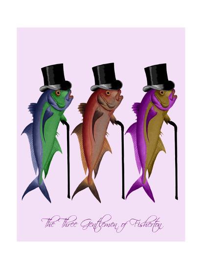 Gentleman of Fisherton-Fab Funky-Art Print