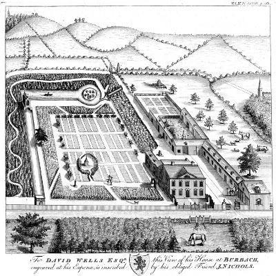 Gentleman's Model Country Estate, C1750--Giclee Print