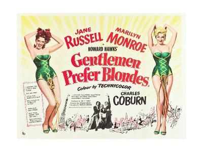 Gentlemen Prefer Blondes 1953--Giclee Print