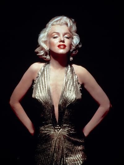Gentlemen Prefer Blondes, Marilyn Monroe, Directed by Howard Hawks, 1953--Photographic Print