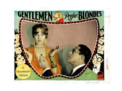 Gentlemen Prefer Blondes, Ruth Taylor, Holmes Herbert, 1928--Giclee Print