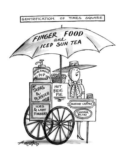 Gentrification of Times Square. - New Yorker Cartoon-Henry Martin-Premium Giclee Print