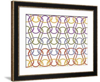Geo 1 C-Mindy Howard-Framed Giclee Print