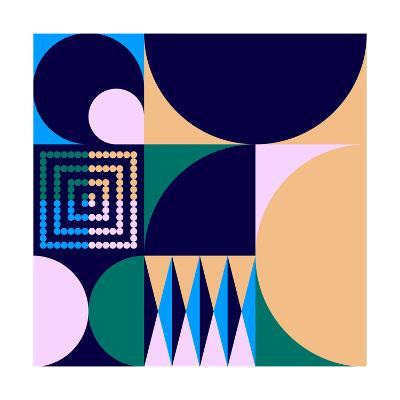 Geo #4-Greg Mably-Giclee Print