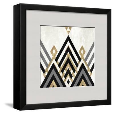 Geo Deco IV-Alan Lambert-Framed Giclee Print