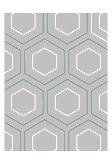 Geo Grey-Sheldon Lewis-Art Print