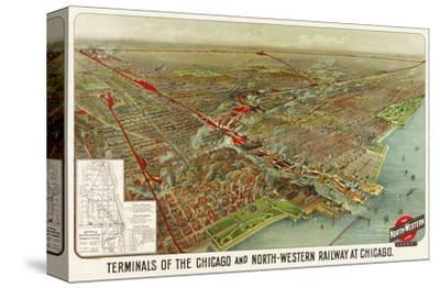 Terminals of the Chicago and North-Western Railway at Chicago, 1902