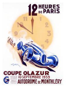 12 Heures de Paris, Coupe Olazur by Geo Ham