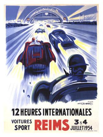 12 Heures International Reims, 1954