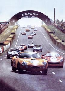 24 Heures du Mans by Geo Ham
