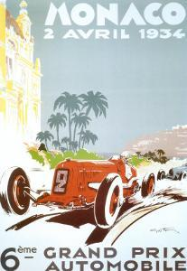 6th Grand Prix Automobile, Monaco, 1934 by Geo Ham