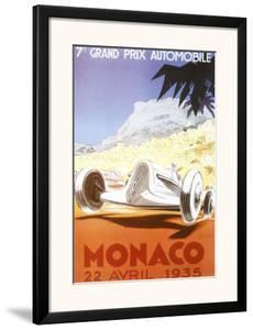 7th Grand Prix Automobile, Monaco, 1935 by Geo Ham