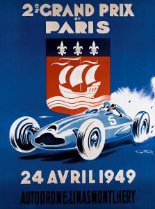 Grand Prix de Paris, 24 Avril 1949 by Geo Ham