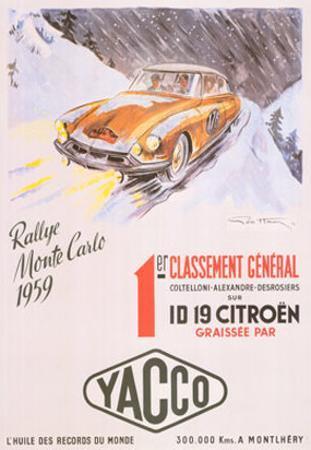 Rallye Monte Carlo, 1959